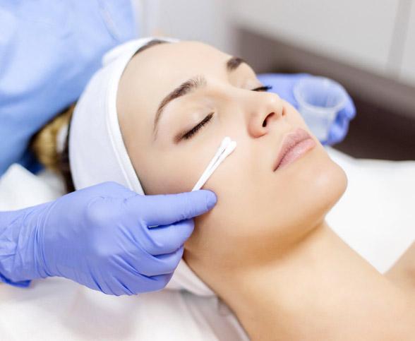 Aesthetician treatments