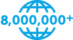 8 million CoolSculpting treatments performed worldwide