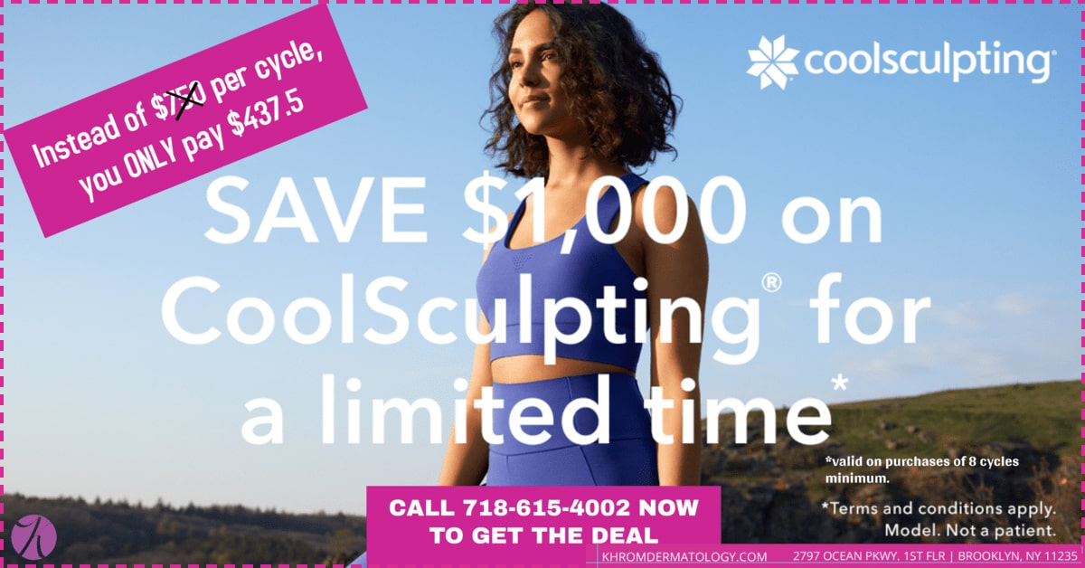 CoolSculpting Limited Promo at Khrome Dermatology