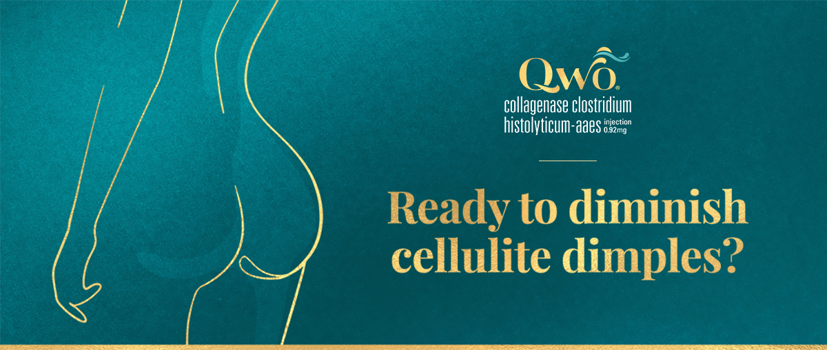 Ready to diminish cellulite dimples?